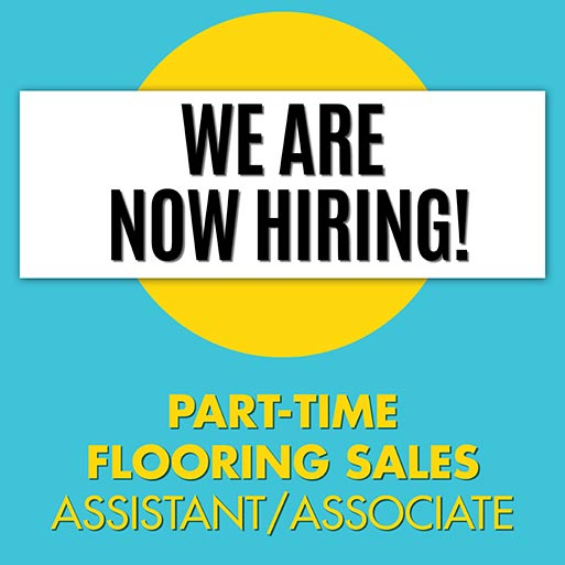 We are hiring a part-time sales associate!